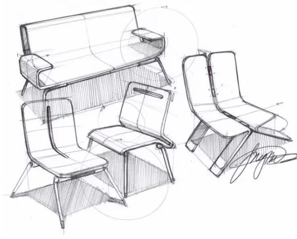 超详细的工业设计作品集产品速写创作技法与创作经验分享!